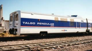 Railways considering introduction of Talgo type trains