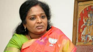 Hindu outfit workers in Tamil Nadu being targeted: BJP state president Tamilisai Soundararajan