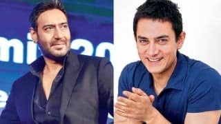 When Aamir Khan risked his life to save Ajay Devgn! (Watch video!)