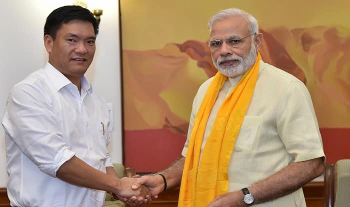 Arunachal Pradesh: BJP joins Khandu led PPA government