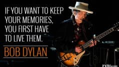 Bob Dylan: 10 best quotes of the 2016 Nobel Literature Prize winner American singer