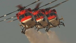 Indian Air Force Day 2016: 'Sarang' helicopters' iconic performance to celebrate 84th anniversary of Vayu Sena (Watch Video)