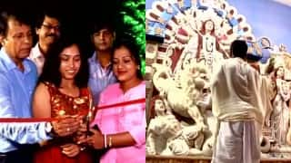 Olympian Dipa Karmakar inaugurates Durga Puja in Agartala, Uri attack bravehearts remembered