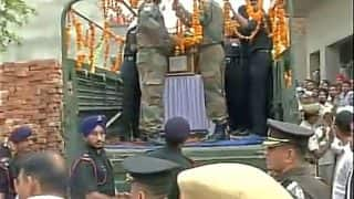 Martyr Mandeep Singh's mortal remains brought to Haryana; ML Khattar pays tribute
