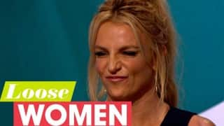 Britney Spears reveals on Loose Women she would love to kiss Justin Bieber instead of Madonna!