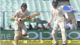 India vs New Zealand 3rd Test Day 3 Lunch: Kiwis off to a steady start