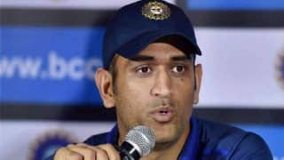 Mahendra Singh Dhoni describes bowlers performance as one of the best