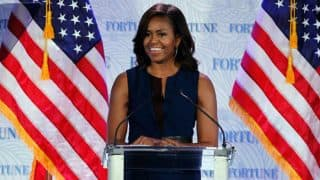 Hillary Clinton 'absolutely ready' to be commander-in-chief: Michelle Obama