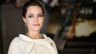 Angelina Jolie SPOTTED for the first time since divorce filing!