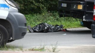 Couple burnt to death in motorcycle-lorry collision