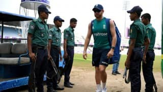 England tour of Bangladesh 2016: Heavy security in Bangladesh greets England as visitors start training in Dhaka