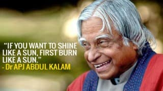 APJ Abdul Kalam 85th birth anniversary: 16 motivational quotes from the 'People's President'