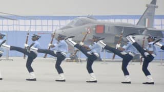 Air Force Day 2016: Para jumps carried out, Royal Red Arrows  performs spectacularly to celebrate the Indian Air Force [Watch Video]