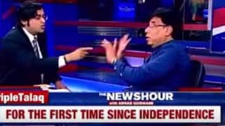 Triple Talaq debate: Arnab Goswami makes ex-Mumbai cop Shamsher Pathan leave his show (Watch Video)