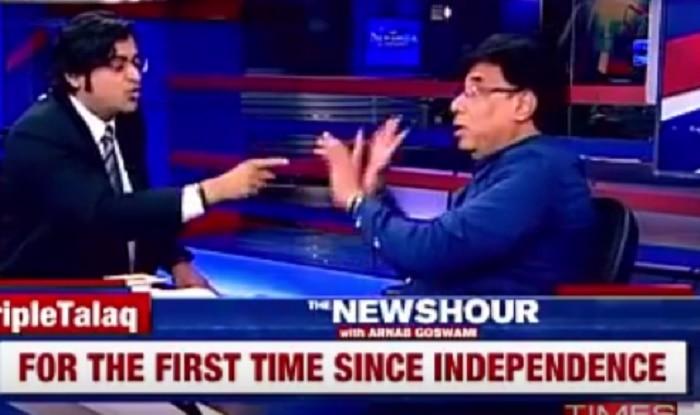 Triple Talaq debate: Arnab Goswami makes ex-Mumbai cop Shamsher Pathan leave his show (Watch Video)