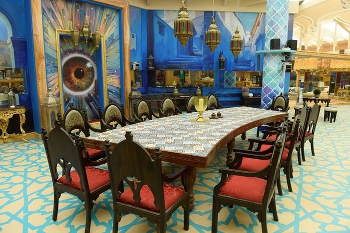 Bigg Boss 10 house  Dining-Table