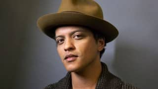 Bruno Mars releases single after four years