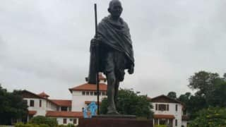 Ghana government wants to relocate 'racist' Mahatma Gandhi statue