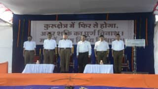 Trousers replace khaki shorts of RSS workers