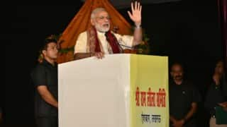 Narendra Modi compares girl child with Sita, urges people to save, respect them