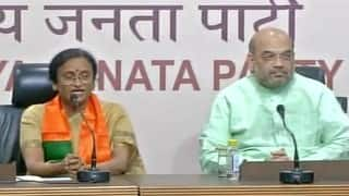 Rita Bahuguna Joshi leavs Congress to join BJP