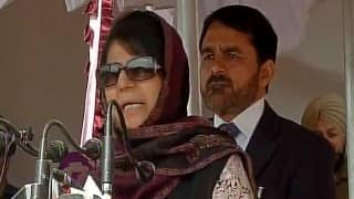 Mehbooba Mufti seeks Pakistan's help for peace in Kashmir, vows to revoke AFSPA