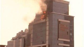 Fire breaks out in Delhi building