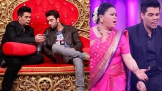 Comedy Nights Bachao Taaza: Ranbir Kapoor & Karan Johar promote Ae Dil Hai Mushkil; get roasted by Bharti Singh!