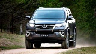 New Toyota Fortuner sells 2000 units in February 2017; Registers highest ever monthly sales since launch