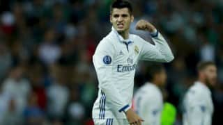La Liga: Alvaro Morata winner sends Real Madrid top, Atletico Madrid beaten