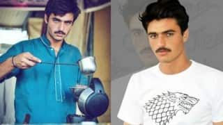 Hot Pakistani chaiwala Arshad Khan gets meaty modelling offer, begins work: Check out his pictures!