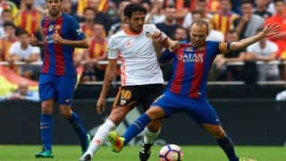 Andres Iniesta out for two months with knee injury