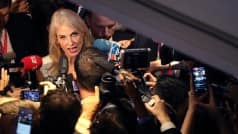 Donald Trump's campaign chief Kellyanne Conway admits mogul's 'behind' Hillary Clinton in the polls
