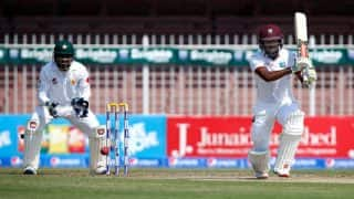Kraigg Brathwaite leads West Indies fightback against Pakistan