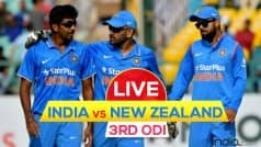 Virat Kohli remains unbeaten on 154 as IND beat NZ by 7 wickets | India Vs New Zealand, Live Cricket Score, 3rd ODI in Mohali