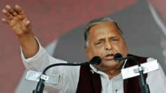 Mulayam Singh Yadav projects 'all is well' image