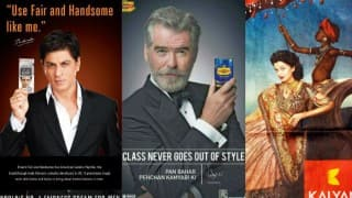 Not Just Pierce Brosnan with Pan Bahar, 7 Times Other Celebrity Endorsements Went Horribly Wrong
