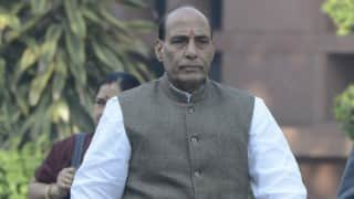Note ban an attack on terrorism, Pakistan worried, says Rajnath Singh