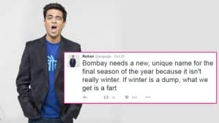 Comedian Rohan Joshi asked for another name for 'Mumbai Winters' and the results were hilarious