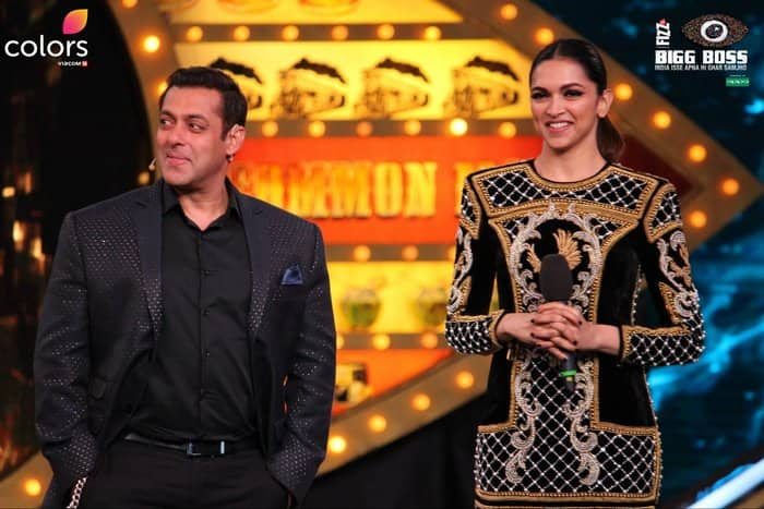 Salman Khan and Deepika Padukone on Bigg Boss 10 3