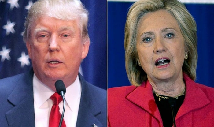 Hillary Clinton leads Donald Trump by 5 points in latest poll