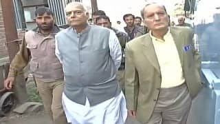 BJP in Kashmir: Yashwant Sinha led delegation meets Hurriyat leader Syed Ali Geelani