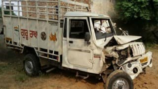 Uttar Pradesh: Six killed, 4 injured as jeep collides with tractor-trolley