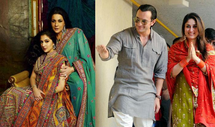Image result for amrata singh,sara khan,saif ali khan,bollywood,