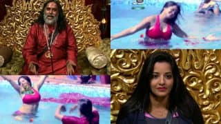 Bigg Boss 10 31st October 2016, Day 15 preview: BB10 contestant Om Swami SHAMELESSLY grooves with Mona Lisa in the swimming pool