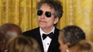 Bob Dylan will collect his Nobel Prize
