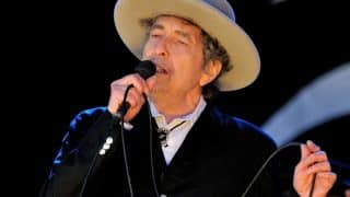 Bob Dylan accepts Nobel Prize, says it left him 'speechless'