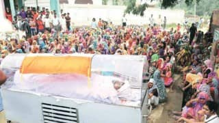 Dadri: Mohammad Akhlaq's murder suspect's family refuses to cremate him, body kept under tricolour