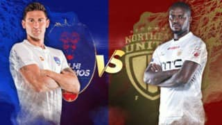ISL LIVE Score, Delhi Dynamos FC vs NorthEast United FC: Delhi 1-1 North East, it is a draw!