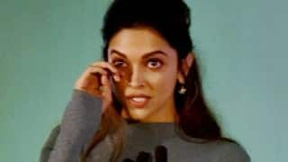 OMG! Deepika Padukone in tears while talking about depression at mental health campaign (Video)